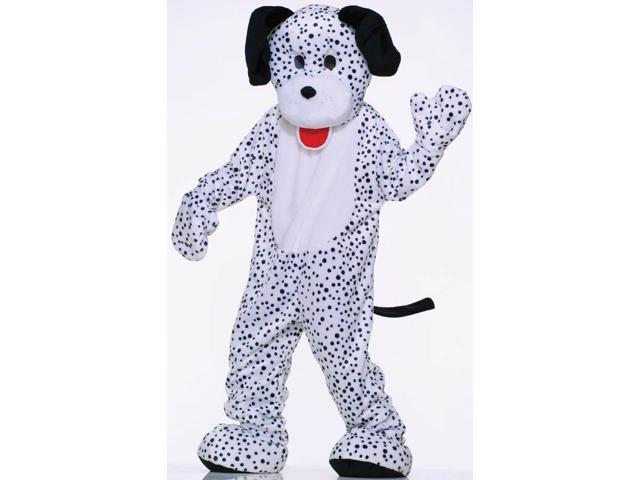 Deluxe Plush Dalmation Adult Mascot Costume Standard
