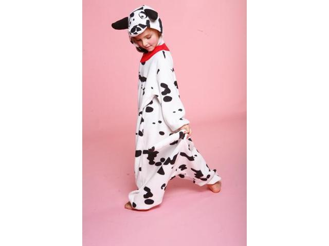 Dalmatian Kigurumi Cushzilla Animal Anime Costume Pajamas Child 2T-6 2T-6