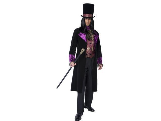 Gothic Count Deluxe Adult Costume Large