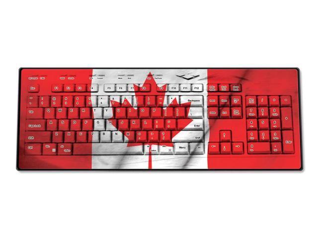 Canada Wireless USB Keyboard
