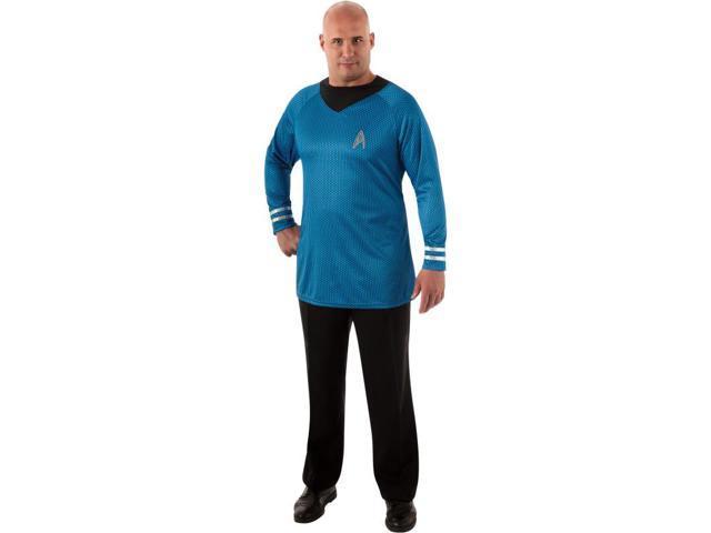 Star Trek Deluxe Spock Costume Shirt Adult Plus Plus