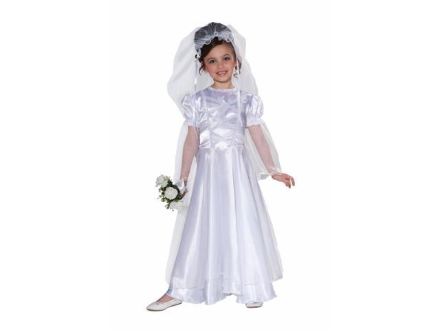 Little Wedding Belle Costume Child Large