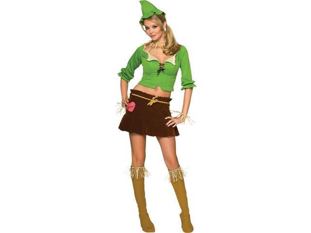 Wizard Of Oz Sexy Scarecrow Adult Costume Small