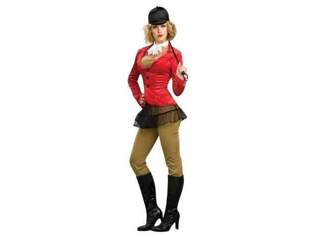 Equesterienne Female Lady Jockey Horse Rider Costume Adult Small