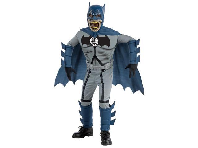 Batman Blue Deluxe Zombie Costume Child Small 4-6