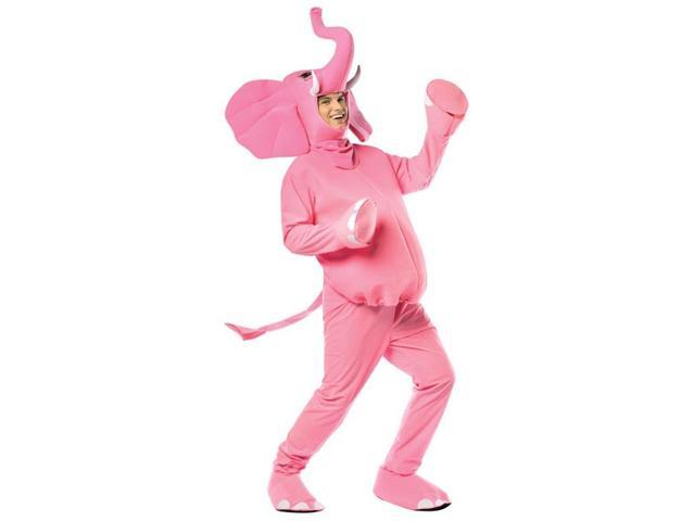 Pink Elephant Costume Adult One Size Fits Most