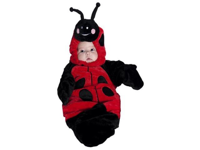 Lady Bug Bunting Costume Infant 0-6 Months