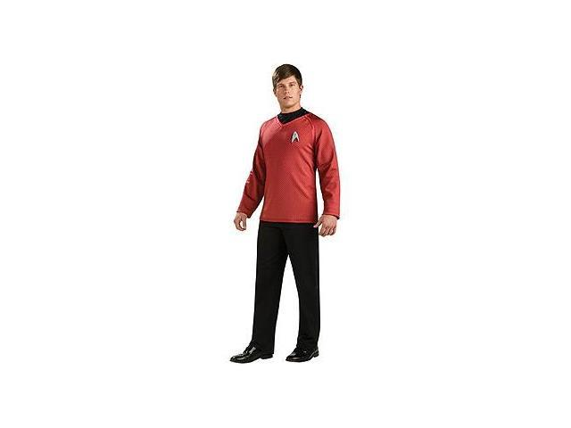 Star Trek Movie Grand Heritage Scotty Red Shirt Costume Adult Medium