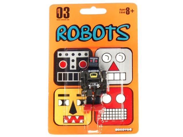 Stikfas Cuboyds Robot Figure Black S3 RO-K