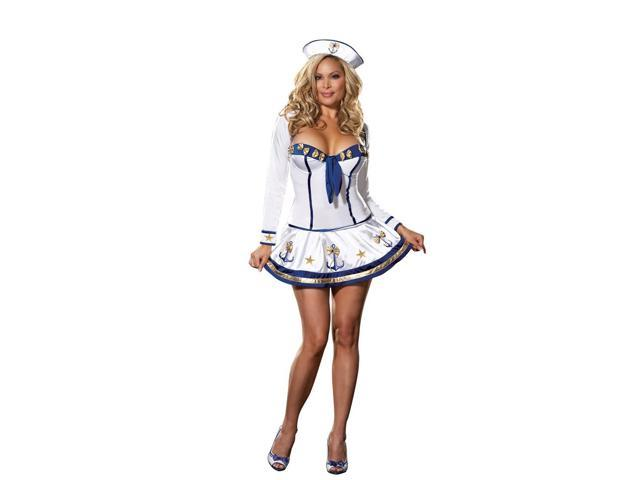 Sexy Sailor Makin' Waves Costume Adult X-Large