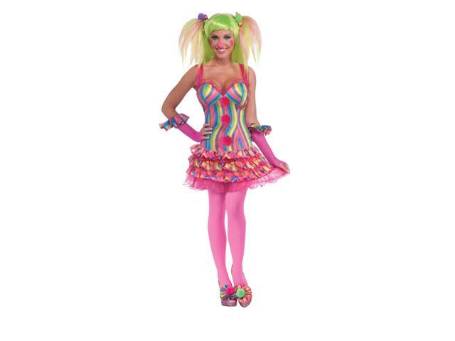 Circus Sweetie Striped Tutu Costume Dress One Size Fits Most