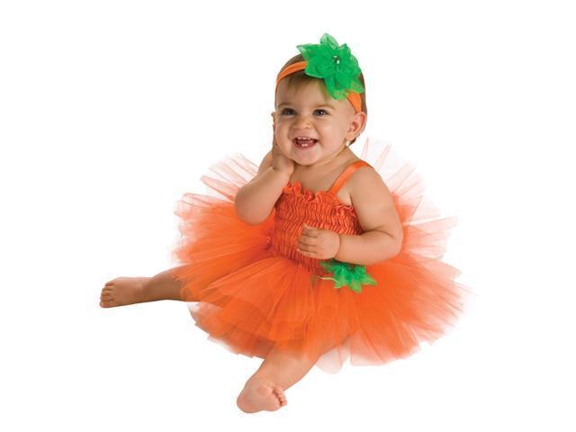 Pumpkin Baby Tutu Costume Infant 6-9 Months