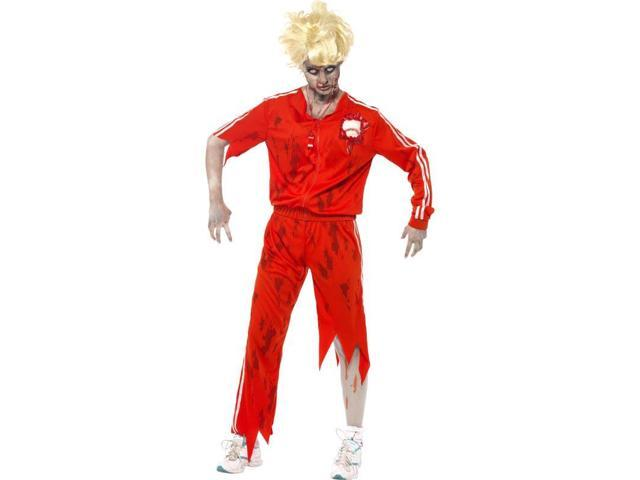 Zombie Sports Teacher Adult Costume Small