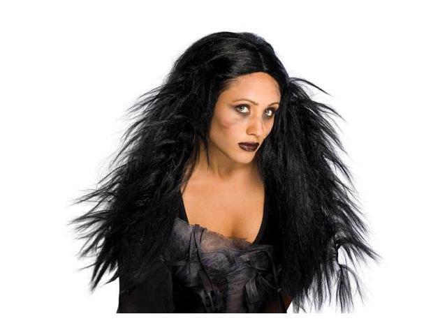 Dark Ages Costume Wig Black