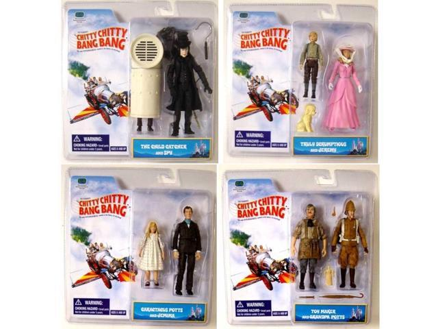 Chitty Chitty Bang Bang Two Pack Figure Case Of 12