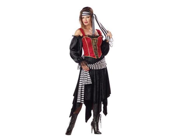 Pirate Lady Adult Costume Small