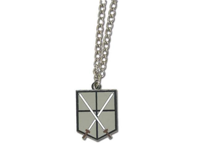 Attack On Titan 104th Trainees Squad Emblem Metal Necklace