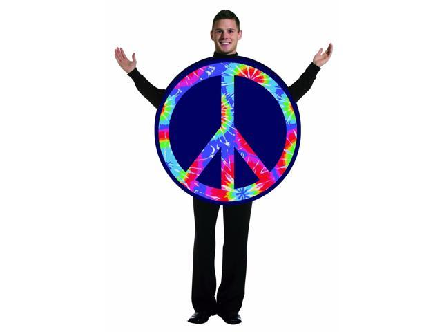 Peace Sign Costume Adult Standard