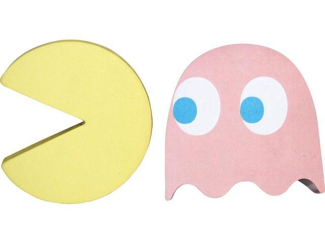 Pac-Man Sticky Notes Set Of 2