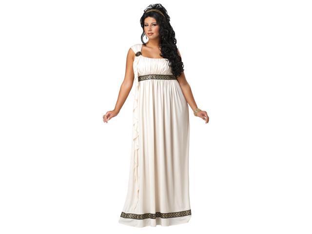 Olympic Greek Goddess Dress Costume Adult Plus XXX-Large 18-20
