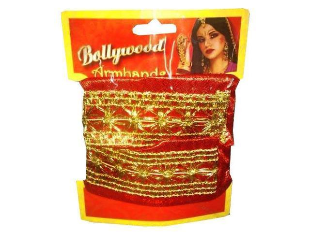 Bollywood Indian Jeweled Adult Costume Armbands