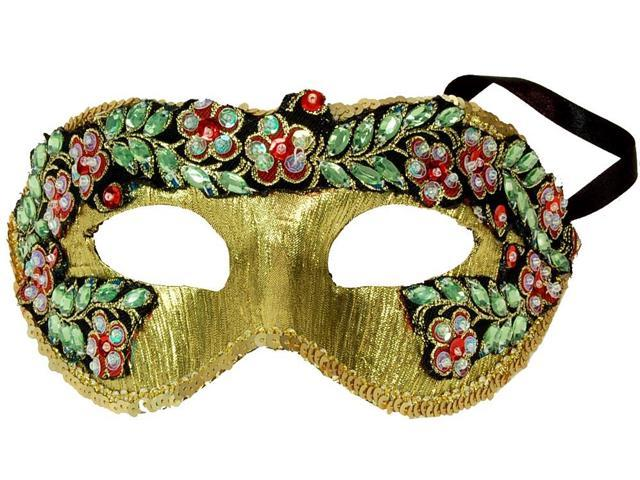 Princess Floral Adult Costume Mask Style B