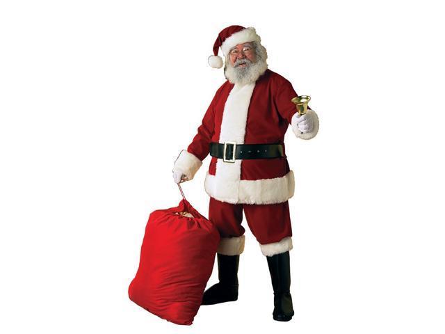 Deluxe Ultra Velvet Santa Suit Adult Costume Standard
