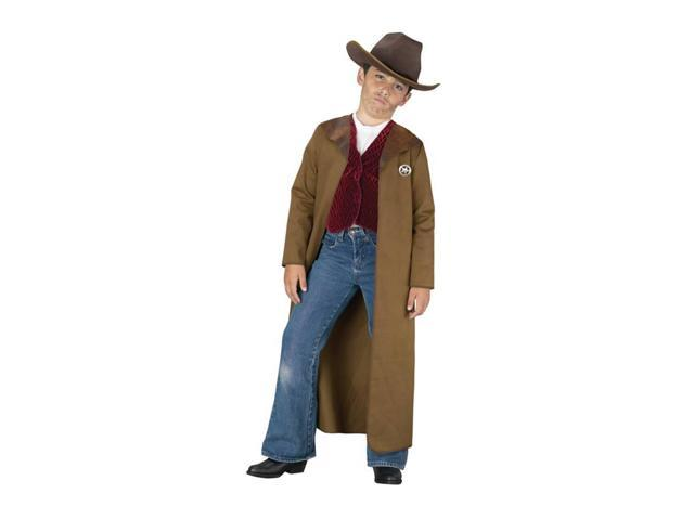 Old West Sheriff Costume Child Small