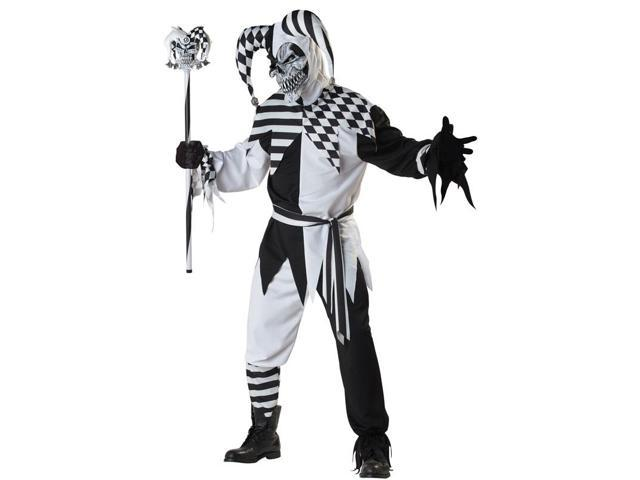 Nobody's Fool Jester Costume Adult Large