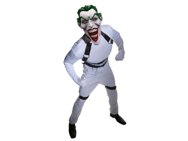 Batman The Joker Straight Jacket Costume Adult One Size Fits Most Up To 44