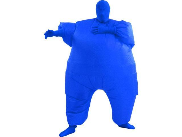 Inflatable Chub Suit Costume: Blue One Size Fits Most