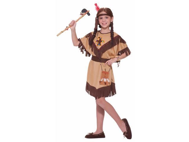 Native American Indian Princess Dress Costume Child Small