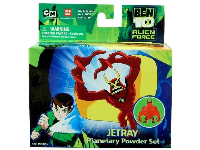 Ben 10 Planetary Powder Set Jetray
