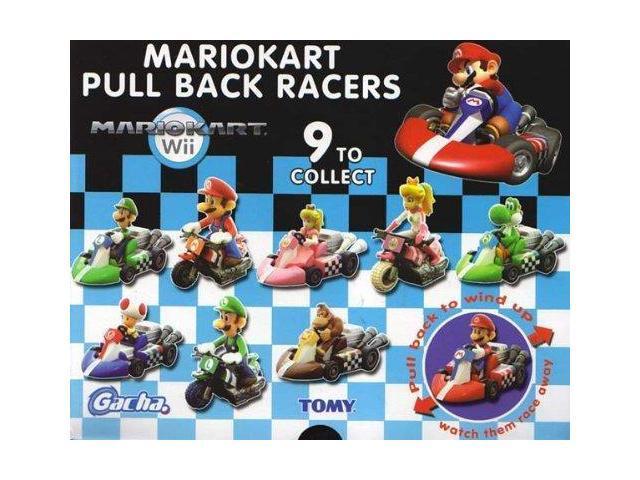 """Super Mario Brothers Mario Kart 2"""" Pull Back Racers Single Random"""