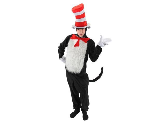 Dr. Seuss Cat In the Hat Deluxe Costume Adult Small/Medium