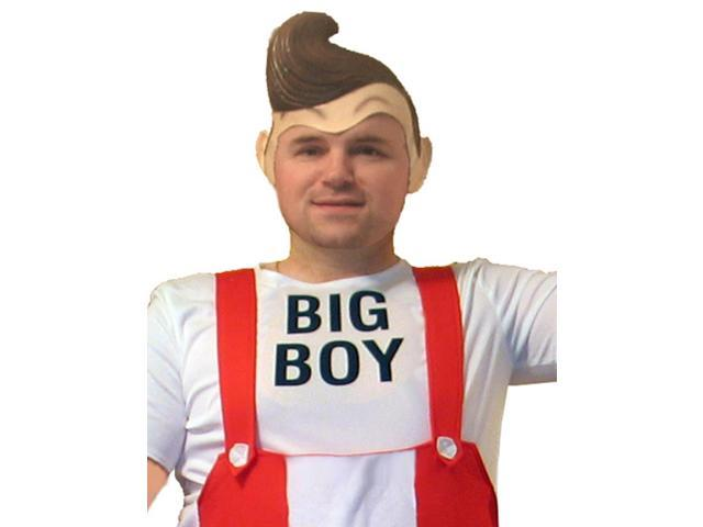 Big Boy Deluxe Adult Cartoon Latex Costume Wig