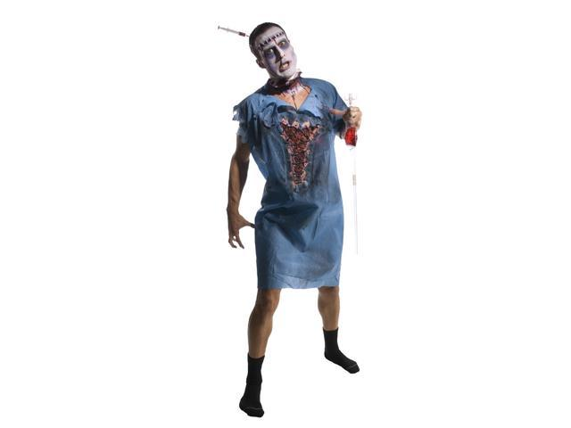 Zombie Patient Gown Costume Accessory