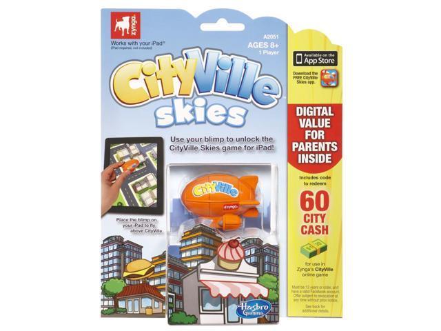 Cityville Skies Game Blimp