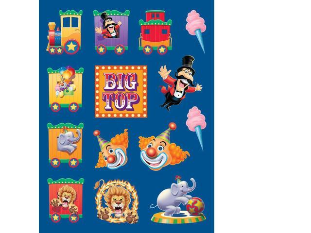 Stickers Value 12/4 Pack Big Top Birthday