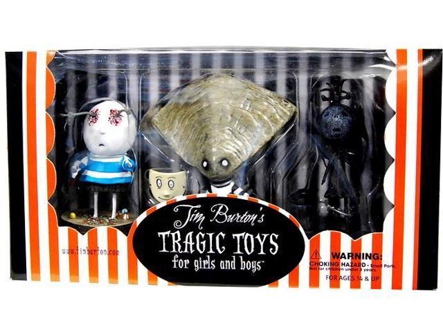 Tim Burton's Tragic Toys For Girls & Boys Set # 3