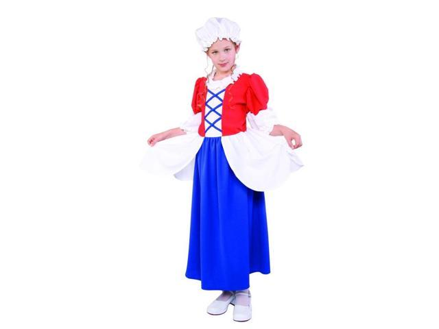 Betsy Ross Colonial Costume Child Small 4-6
