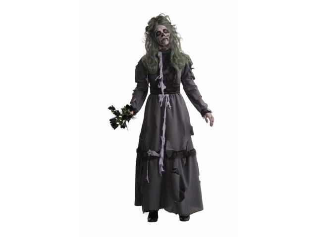 Zombie Victorian Lady Dress Costume Adult Standard