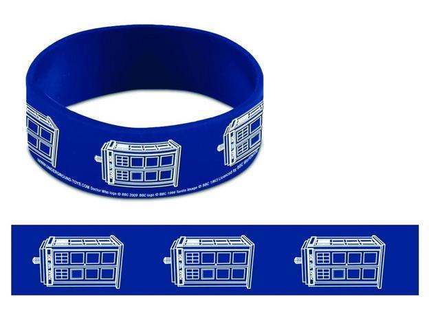 Doctor Who Tardis Rubber Wristband
