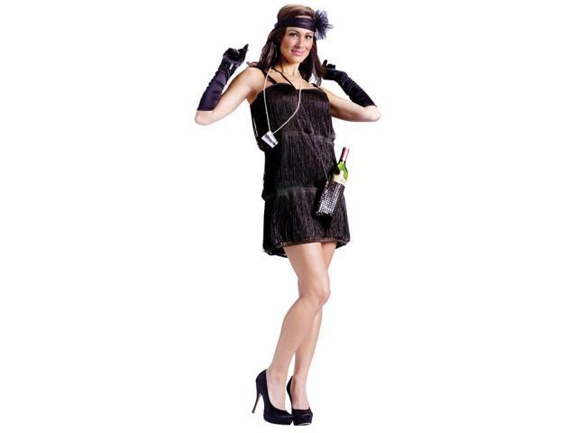 20's Bootleg Flapper Costume Adult Small/Medium
