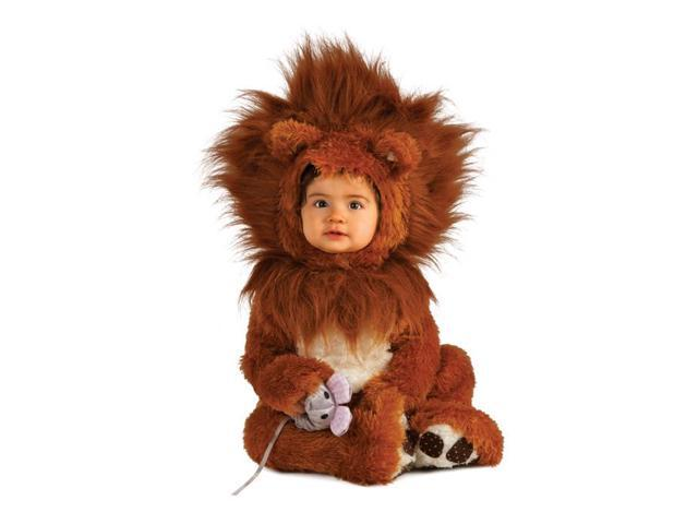 Brown Lion Cub Baby Costume Toddler 0-6 Months