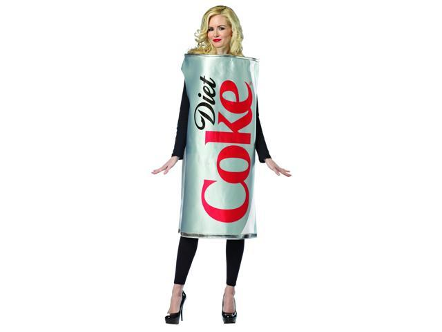 Coca Cola Diet Coke Can Costume Adult One Size Fits Most