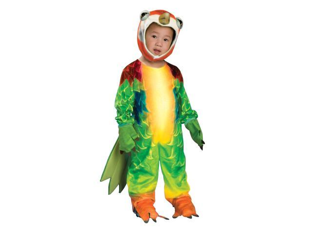 Colorful Parrot Jumpsuit Costume Child Toddler Small