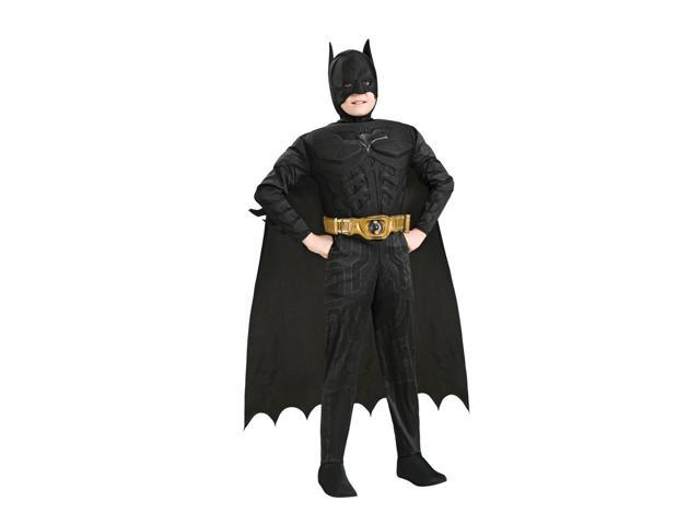 Batman Deluxe Muscle Chest Costume Child Large 12-14