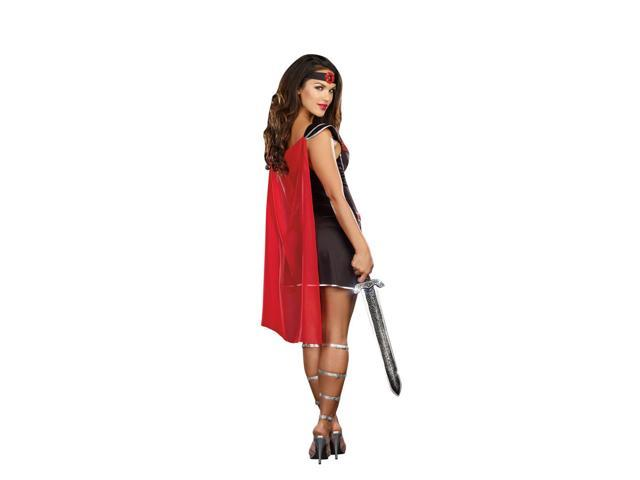 Sexy Bring It Roman Warrior Costume Dress Adult X-Large