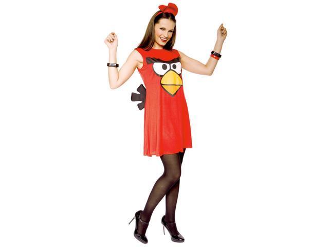 Angry Birds Sassy Red Bird Adult Costume Medium